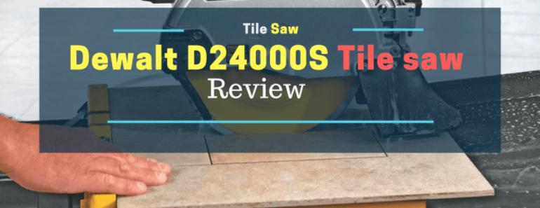 Dewalt D24000s Tile saw