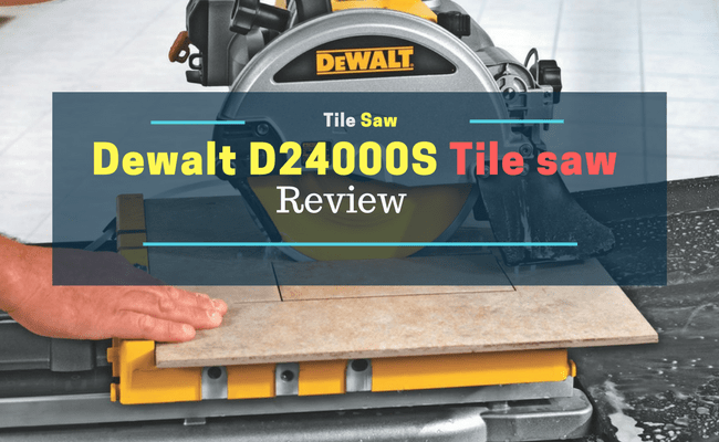 DEWALT DS Tile Saw Review Saw Maniac - Dewalt wet saw pump