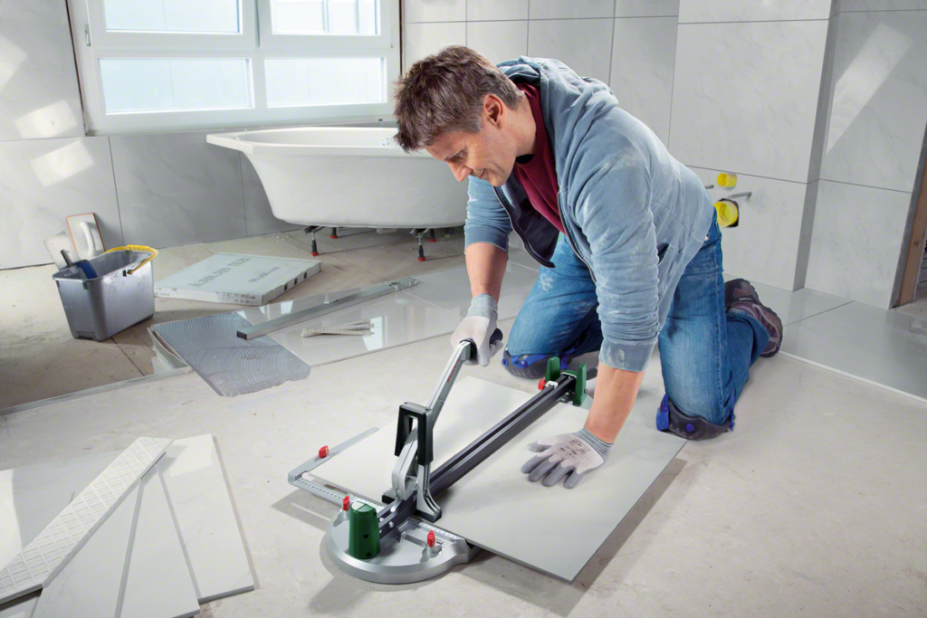 how to cut porcelain tile