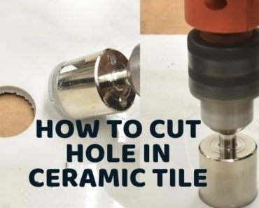 drilling ceramic tile